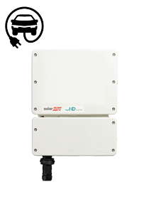 SolarEdge SE3680H / HD-Wave APP met E-Ladecontroller
