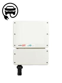 SolarEdge SolarEdge 4000W 1ph HD-Wave Inverter NO DISPLAY with EV charging
